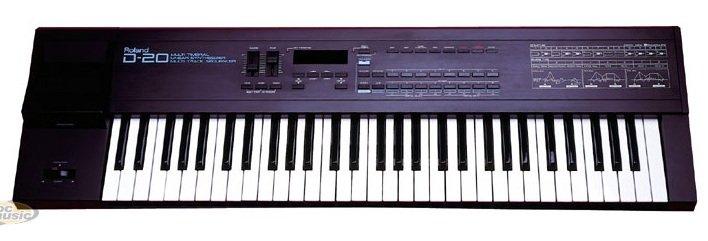 Synthétiseur Roland D-20 dans Musique compos persos 2635061