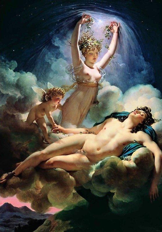 L'aurore et le céphale dans Dessin / B.D. / Peinture laurore-et-cephale-2