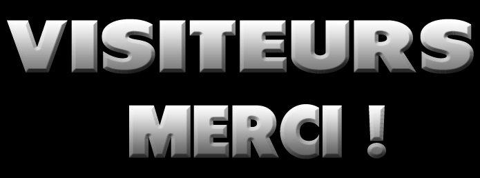 Visiteurs/lecteurs : MERCI ! dans Divers 82878175_o
