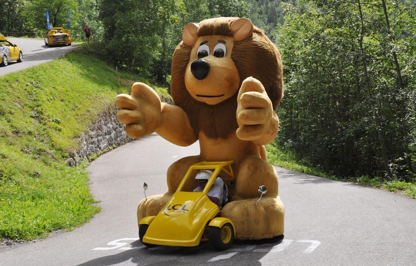 Caravane Publicitaire LCL Lion  (1)