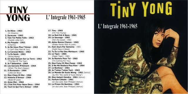 Tiny Yong - L'Integrale (1961-1965)  (1)