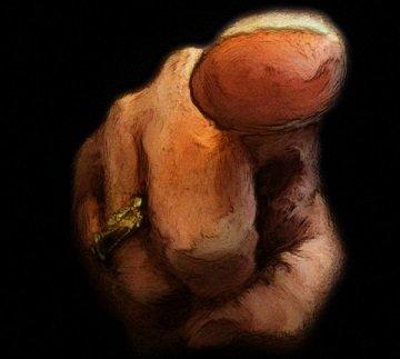 jugement le doigt